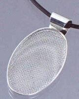 Ovale hanger met zeef 72401