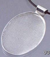 Ovaal hanger met zeef 72403