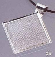 Vierkant hanger met zeef 72406