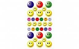 Stickerfun 402 smiley fun | Purple peach