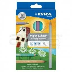 Super ferby metallic potlodenset | Lyra