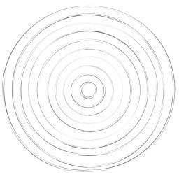 Metalen ringen rond wit gelakt | Rayher