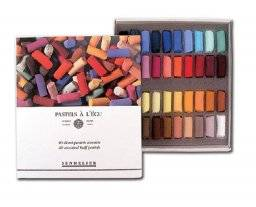 Softpastels doos halve pastels | Sennelier