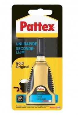 Pattex secondelijm gold orig. 3g