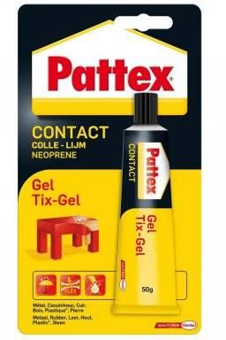 Contactlijm tix-gel 50 gr | Pattex