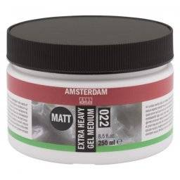 Amsterdam extra heavy gel medium | Talens