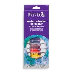 Water mixable oilcolour 12 tubes | Reeves