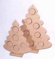 Mdf kerstbomen met gaten | Pronty