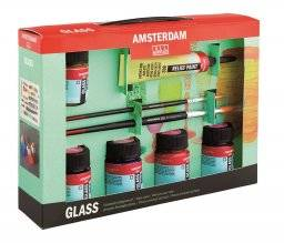 Amsterdam deco glasverfset | Talens
