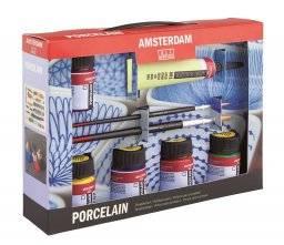 Amsterdam deco porcelainverfset | Talens