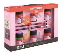 Amsterdam deco textielverf set | Talens
