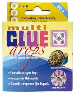 3158 multi-glue drops 8 mm. | Jeje