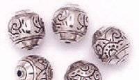 Metalen design kralen 6400-08