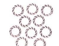 Metalen ringen gedraaid 6401-01
