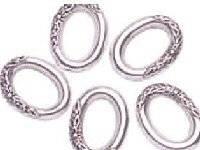 Metalen ring ovaal bew. 6401-03