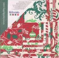 Papierset 2046 rood-groe | Artemio