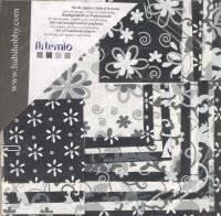 Papierset 2047 zwart-wit | Artemio