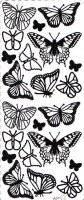 Stickervel vlinders 158   Pickup