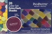 20 color set extradark 207 | Panpastel