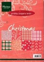 Pretty paper christmas PK9054   Marianne design