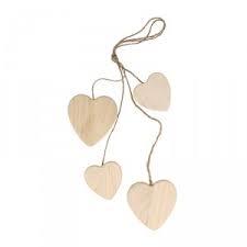 Koord 4 houten hart 14001200 | Artemio
