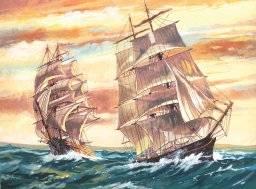 Schilder nr PL121 sailingship | Reeves