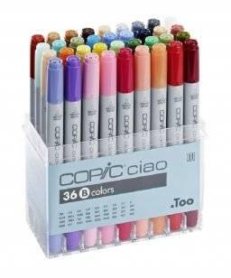 Ciao markerset B 36 stuks   Copic