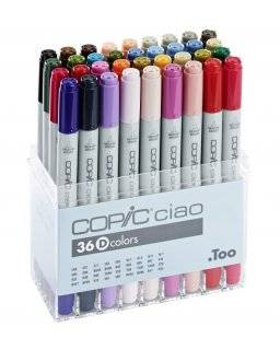 Ciao markerset D 36 stuks | Copic