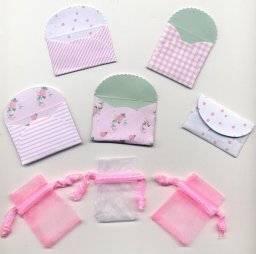 Mini enveloppen 5502 roze