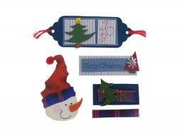 Kerst stickers 0201