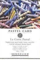 Pastel card blok | Sennelier