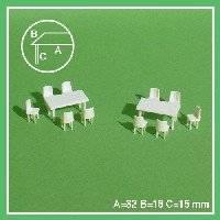2 tafels en 10 stoelen 55-50205 | Schulcz