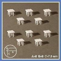 Tafels vierkant 54-60704 | Schulcz