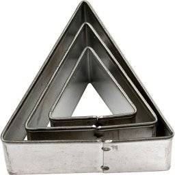 Uitstekerset driehoek 36003 | Makin's clay