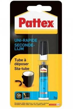 Secondelijm sta-tube 3gr. | Pattex