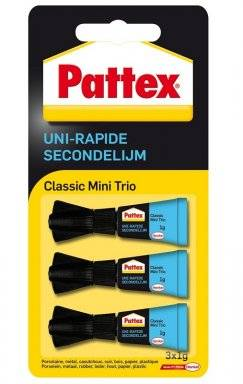 Secondelijm mini-trio 3x1gr | Pattex