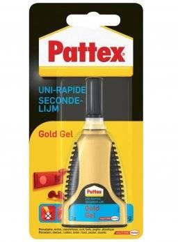 Secondelijm gold gel 3gr | Pattex