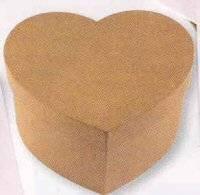 Kartonnendoos hart 10x10 cm 122 | Rayher