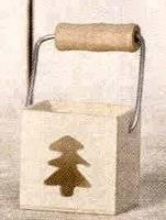 Houtbakje+hengsel denneboom 02 | Artemio