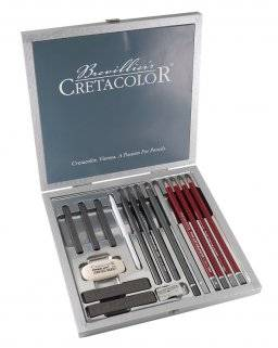 Silverbox in kistje 400-17 | Cretacolor