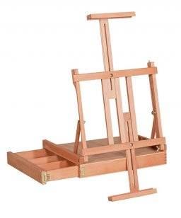 Tafelkistezel model met zijbak.