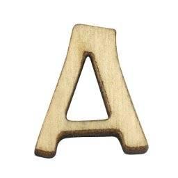 Houten letters 18 mm. | Rayher