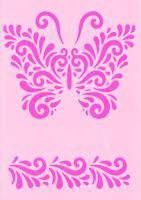Sjabloon A5  20745 vlinder | Efco