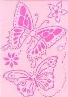 Sjabloon A4  20902 vlinders 1 | Efco
