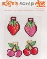 Scrappatches 106.011 strawberry1   Pronty