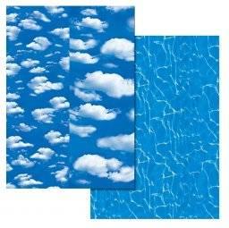 Variokarton 307.400 wolken/water