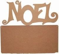 Mdf wandbord noel 002 | Pronty