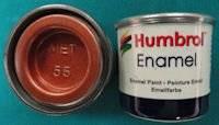 Enamel metallic 14 ml. | Humbrol