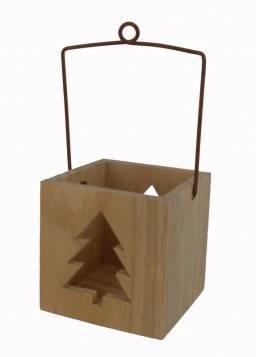 Windlicht kerstboommodel   Knorr prandell