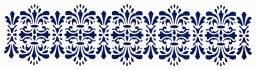 Sjabloon lang barok 447.100.005 | Pronty